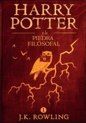 Harry Potter y la piedra filosofal por J.K. Rowling