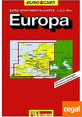 EUROPA A:2.500.000 MAPA CARRETERAS
