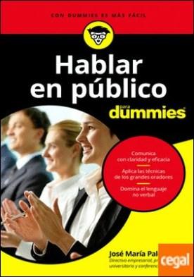 Hablar en público para Dummies