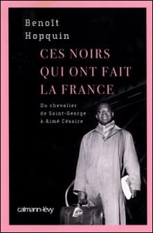 Ces Noirs qui ont fait la France - Du Chevalier Saint-Georges à Aimé Césaire-Benoît Hopquin