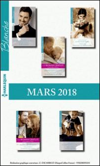 10 romans Blanche + 2 gratuits (nº1356 à 1360 - Mars 2018)-Collectif