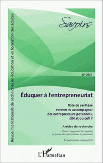 Savoirs N° 39/2016-Jean-Pierre Boutinet