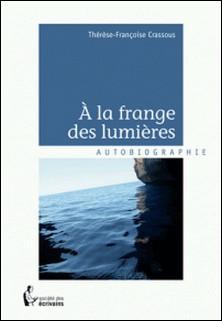 A la frange des lumières-Thérèse-Françoise Crassous