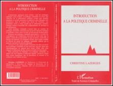 Introduction à la politique criminelle-Christine Lazerges