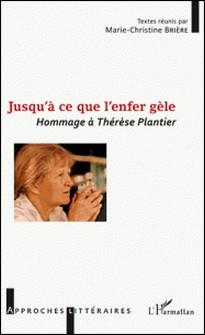 Jusqu'à ce que l'enfer gèle - Hommage à Thérèse Plantier-Marie-Christine Brière