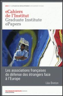 Les associations françaises de défense des étrangers face à l'Europe-Léa Breton