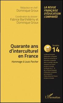 Raisons, comparaisons, éducations N° 14, mars 2016-Fabrice Barthélemy , Dominique Groux