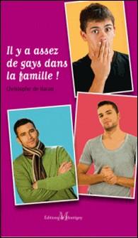 Il y a assez de gays dans la famille ! (comédie gay)-Christophe de Baran