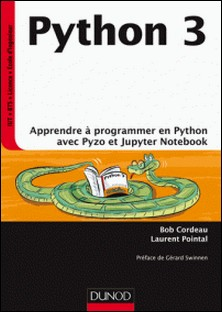 Python 3 - Apprendre à programmer en Python avec PyZo et Jupyter Notebook-auteur
