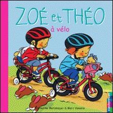 Zoé et Théo à vélo-Catherine Metzmeyer , Marc Vanenis
