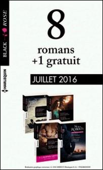 8 romans Black Rose + 1 gratuit (nº392 à 395 - Juillet 2016)-Collectif