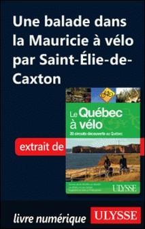 Le Québec à vélo - Une balade dans la Mauricie à vélo par Saint-Elie-de-Caxton-Anne-Marie Grandtner , Francine Saint-Laurent