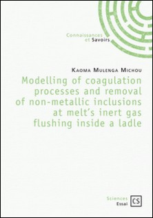 Modelling of coagulation processes and removal of non-metallic inclusions at melt's inert gas flushing inside a ladle-Kaoma Mulenga Michou