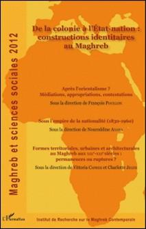 Maghreb et sciences sociales 2012-Pierre-Noël Denieuil