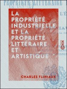 La Propriété industrielle et la propriété littéraire et artistique - En France et à l'étranger-Charles Fliniaux