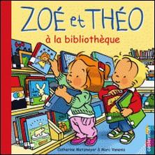 A la bibliothèque-Catherine Metzmeyer , Marc Vanenis