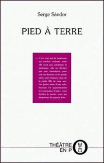 Pied à terre-Serge Sandor