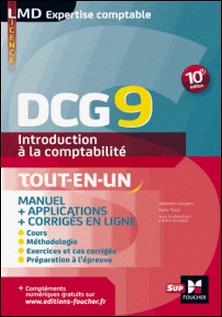 DCG 9 - Introduction à la comptabilité - Manuel - 10e édition-Sébastien Paugam , Collectif , Alain Burlaud , Michel Parruitte , Henri Davasse , Marie Teste