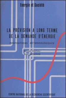 La prévision à long terme de la demande d'énergie : propositions méthodologiques-Bertrand Chateau , Bruno Lapillonne