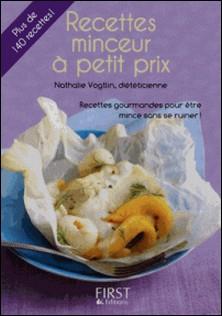 Recettes minceur à petit prix-Nathalie Vogtlin