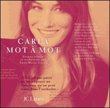 Carla, mot à mot-Anne-Marie Corre
