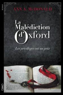 La malédiction d'Oxford-Ann-A McDonald