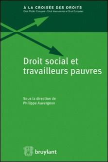 Droit social et travailleurs pauvres-Philippe Auvergnon