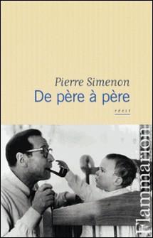 De père à père-Pierre Simenon