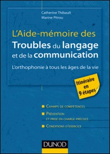 L'Aide-mémoire des troubles du langage et de la communication - L'orthophonie à tous les âges de la vie-Marine Pitrou , Catherine Thibault