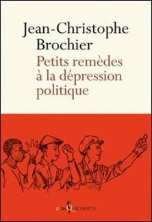 Petits remèdes à la dépression politique-Jean-Christophe Brochier