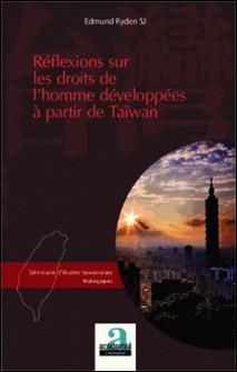 Réflexions sur les droits de l'homme développés à partir de Taïwan-Edmund Ryden
