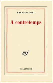 A contretemps-Emmanuel Berl