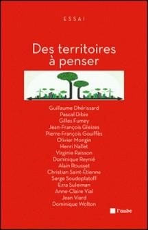 Des territoires à penser-Jean-François Gleizes