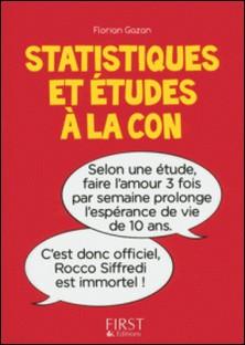 Statistiques et études à la con-Florian Gazan