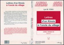 Zaïre, années 90 Tome 5 - Lettres d'un Kinois à l'oncle du village-Yoka Lye Mudaba
