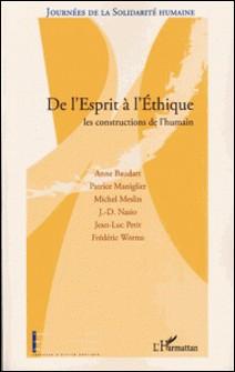 Journées de la solidarité humaine-Frédéric Worms , J.-D Nasio , Michel Meslin , Patrice Maniglier , Jean-Luc Petit