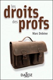 Les droits des profs-Marc Debène