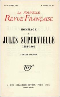 La Nouvelle Revue Française N° 94, Octobre 1960-Gallimard