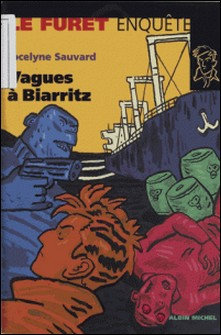 Vagues à Biarritz-Jocelyne Sauvard