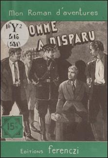 Un homme a disparu-Serge Alkine