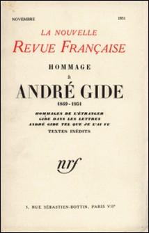 La Nouvelle Revue Française novembre 1951-Gallimard