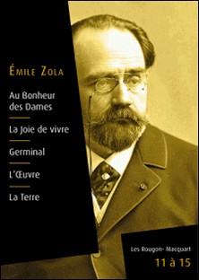 Les Rougon-Macquart, livres 11 à 15-Emile Zola