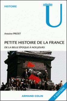 Petite histoire de la France - De la Belle Epoque à nos jours-Antoine Prost