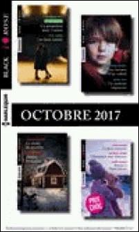 9 romans Black Rose nº447 à 449-octobre 2017-Collectif
