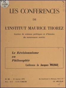 Lénine devant le révisionnisme en philosophie-A. Moine , Jacques Milhau
