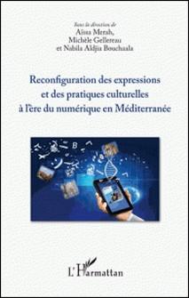 Reconfiguration des expressions et des pratiques culturelles à l'ère du numérique en Méditerranée-Aïssa Merah , Michèle Gellereau , Nabila Aldjia Bouchaala