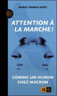 Attention à la marche ! - Comme un Huron chez Macron-Mariel Primois-Bizot