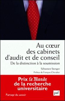 Au coeur des cabinets d'audit et de conseil - De la distinction à la soumission-Sébastien Stenger