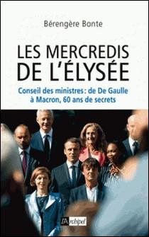 Le Conseil des ministres - De de Gaulle à Macron, 60 ans de secrets-Virginia Woolf