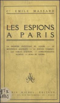 Les espions à Paris-Emile Massard